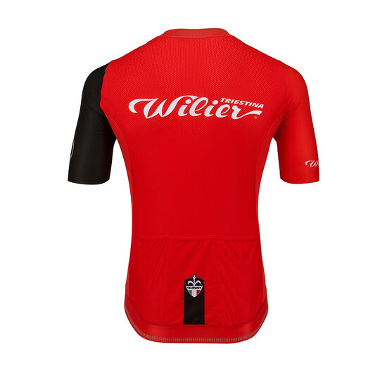 Wilier Cycling Club Trikot rot